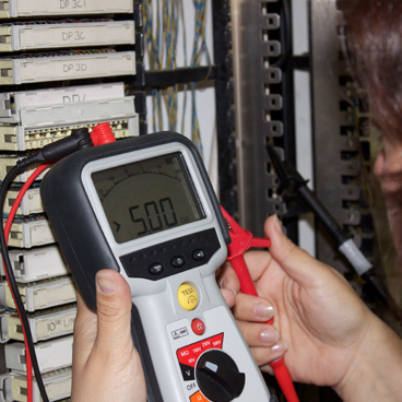 Insulation testers for telecoms engineers