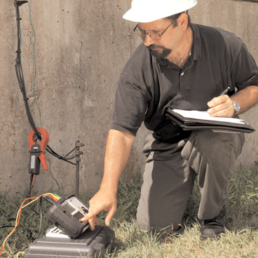 Earth test and ground resistance testers for electricians