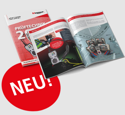 Neuer Megger-Katalog