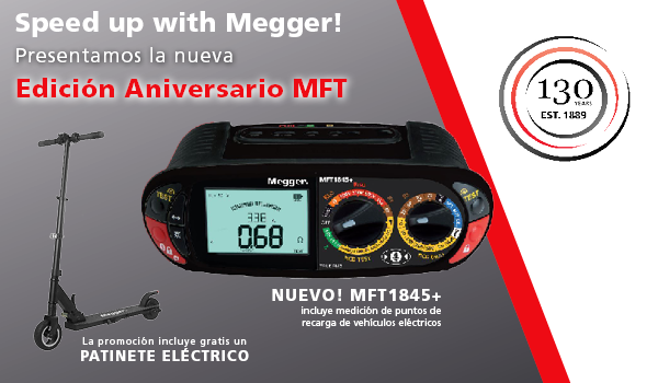 Speed up with Megger