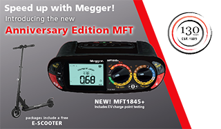 Speed up with Megger promotion in Europe