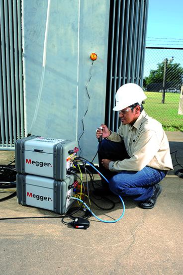 DELTA400 diagnóstico de aislamiento de CA 12 kV