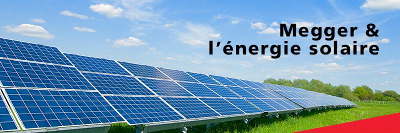 Megger Solar Products