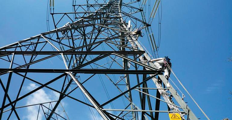 Electricity pylon - electrical distribution