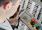 Low voltage installation test equipment