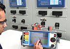 Protection relay test equipment