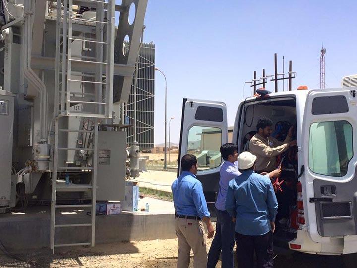 Transformer Testing Vans