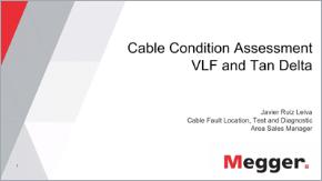 webinar megger cable condition