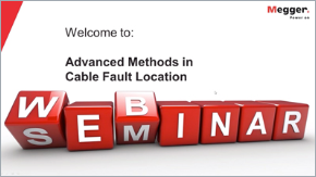 webinar megger advanced cable location