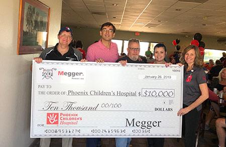 Distributor Charity golf