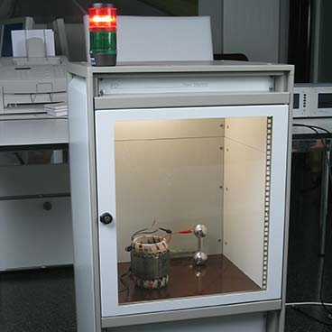 PD test of insulating materials and electronic components