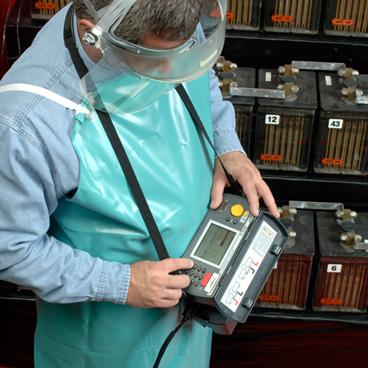 Sprzęt pomiarowy do badania baterii akumulatorów