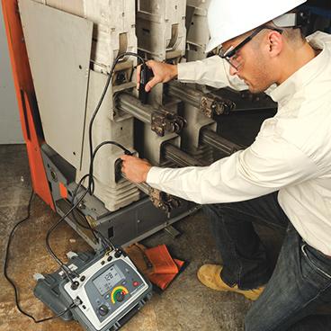 Robust utrustning för resistans, kontinuitet och effektkvalitetstestning