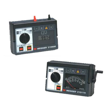 210170 and 210600  - Extended Range Insulation Resistance Testers
