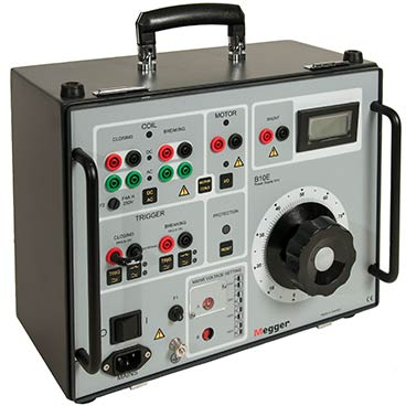 megger egil circuit breaker analyzer manual