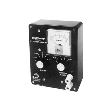 Current transformer burden ammeter