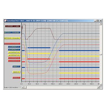 Software para análisis de interruptores de circuito