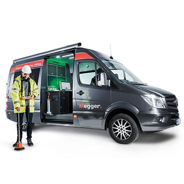 Centrix cable test van system available in 1 and 3-phase versions