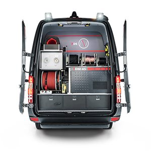 The world's most modern and powerful cable test van system