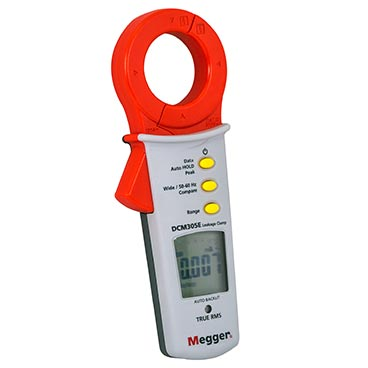 DCM305E - Ground Leakage Clampmeter