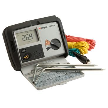 Earth electrode resistance tester