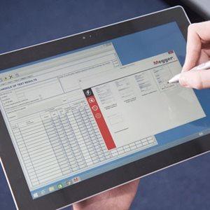FormFiller certification software from Megger