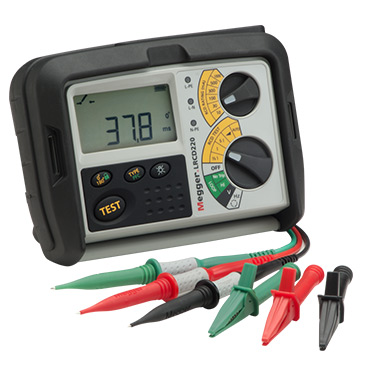 LRCD200 series - Combined Loop and RCD Testers