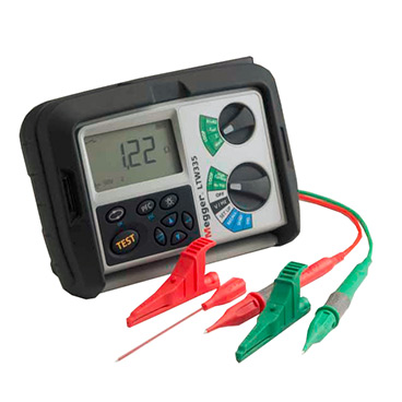 2 wire non-tripping loop impedance testers