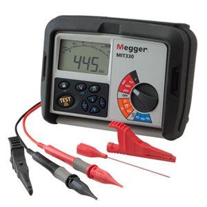 Medidor de Aislamiento y Continuidad Digital 250/500 V