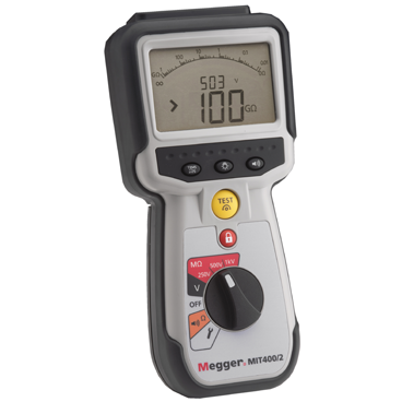 CAT IV insulation testers for electrical and industrial maintenance engineers