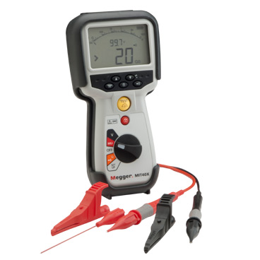 10 V to 100 V special applications insulation and continuity tester