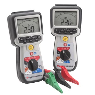 Insulation and continuity tester for communications engineers