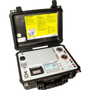 MJOLNER200 - 200 A micro-ohmmeter with DualGround safety