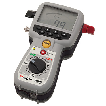 Hand-held 200 A micro-ohmmeter