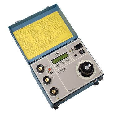 MOM690A - Micro-ohmmeter with on-board test control