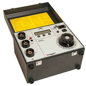 Micro-ohmmeter with on-board test control