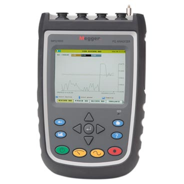 Handheld power quality analyser