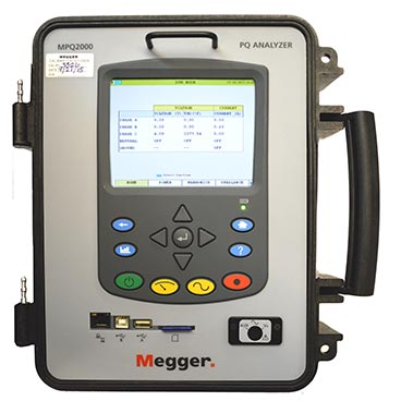 Portable power quality analyser
