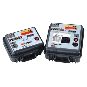 Relay and current transformer test set
