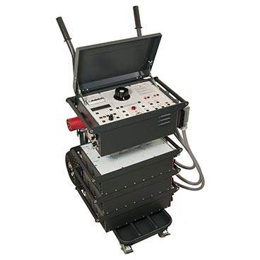 Primary current injection test system