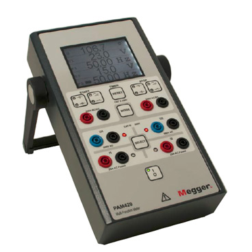 Multifunction phase angle meter