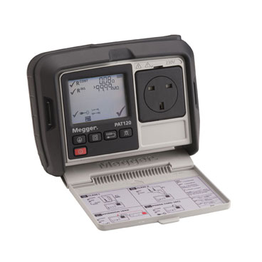 PAT120, PAT150 and PAT150R - Handheld portable appliance testers