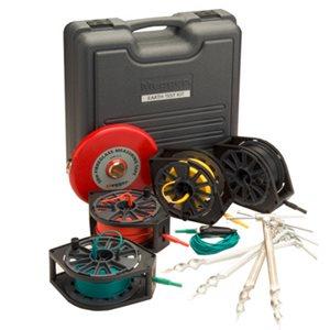 Estuche Medidor de Aislamiento Profesional - Estuche de cables y varillas - Resistencia de Tierra y Electrodo