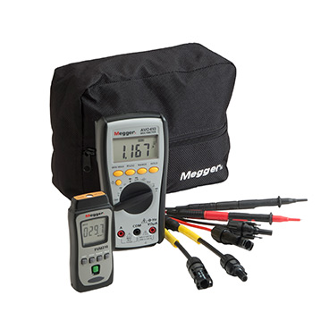 PVK320 - Photovoltaic kit with d.c. clamp multimeter