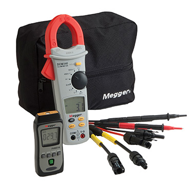PVK330 - Photovoltaic kit with d.c. clamp multimeter