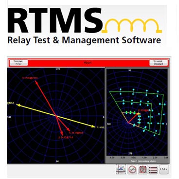Relay test and management software