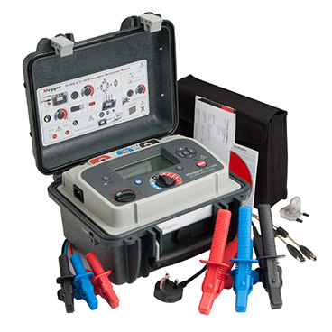 Megger S1-1068 - 10 kV high performance diagnostic insulation tester