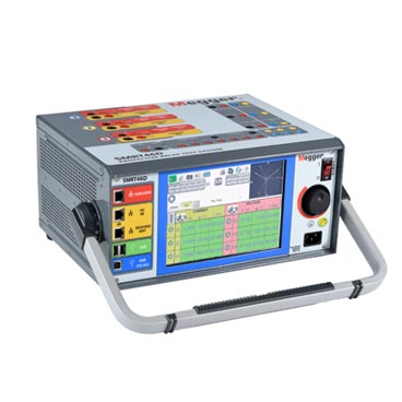 Multi-phase relay tester system