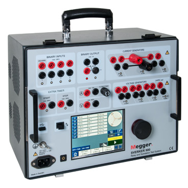 SVERKER900 - SVERKER 900 Relay and Substation Test System