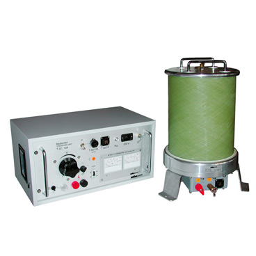 A.C. high voltage test system